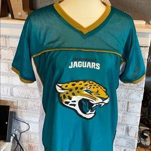 Jacksonville Jaguars reversible jersey size ad M